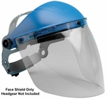 "Elvex Clear Aspherical Polycarbonate Face Shield, Anti-Fog and Anti-Static 8"" x 16"" x 2mm"