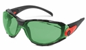 Elvex Go-Specs Safety Glasses with Black Frame, Foam Seal and IR2 Anti-Fog Lens