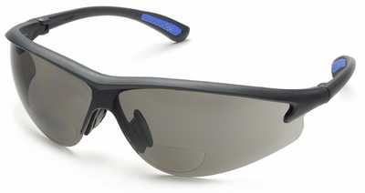 Elvex Rx-300 Bifocal Safety Glasses With Gray Lens