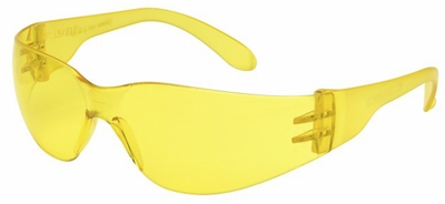 Elvex TTS Safety Glasses with Amber Lens