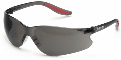 Elvex Xenon Safety Glasses with Gray Lens