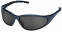 Elvex XTS Polarized Safety Glasses with Blue Frame and Gray Lens