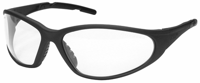 Elvex XTS Safety Glasses with Gray Frame and Clear Lens