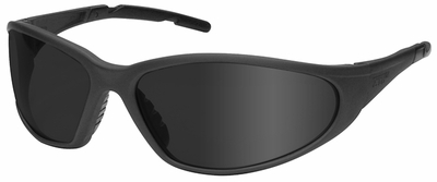 Elvex XTS Safety Glasses with Gray Frame and Gray Lens