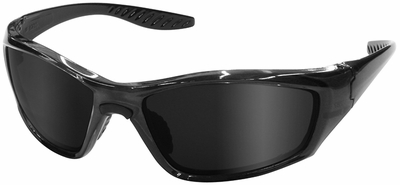 ERB 8200 Safety Glasses with Titanium Gloss Frame and Smoke Lens