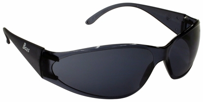 ERB Boas Safety Glasses with Smoke Frame and Smoke Lens