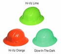 ERB Omega II Hard Hat with Full Brim and 6-Point Ratchet Suspension