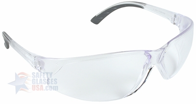 ERB supERB Safety Glasses with Clear Frame and Clear Lens