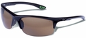 Gargoyles Flux Safety Sunglasses with Black Frame and Brown Polarized Lens
