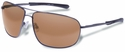 Gargoyles Shindand Safety Sunglasses with Gunmetal Frame and Brown Mirror Polarized Lens