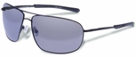 Gargoyles Shindand Safety Sunglasses with Matte Dark Gunmetal Frame and Silver Mirror Lens