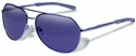 Gargoyles Victor Sunglasses with Gunmetal Frame and Blue Mirror Polarized Lens