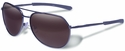 Gargoyles Victor Sunglasses with Matte Gunmetal Frame and Brown Gradient Polarized Lens