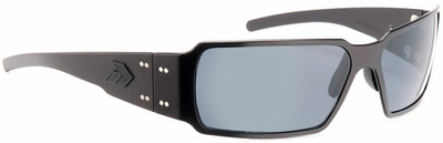 Gatorz Boxster Tactical Sunglasses with Black Frame and Grey Lens