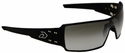 Gatorz Darth Sunglasses with Black Aluminum Frame and Gray Fade Lens