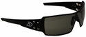 Gatorz Darth Sunglasses with Black Aluminum Frame and Gray Lens