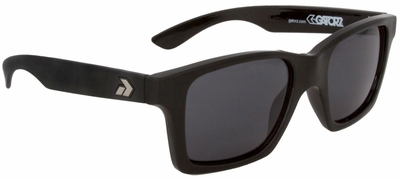 Gatorz I Am Sunglasses with Black Frame and Grey Lens
