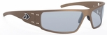 Gatorz Magnum Sunglasses with Cerakote Burnt Bronze Frame and Grey Lens