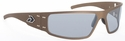 Gatorz Magnum Sunglasses with Cerakote Burnt Bronze Frame and Grey Polarized Lens