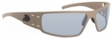 Gatorz Magnum Sunglasses with Cerakote Military Tan Frame and Grey Lens