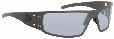 Gatorz Magnum Sunglasses with Cerakote OD Green Frame and Grey Lens