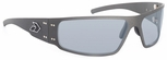 Gatorz Magnum Sunglasses with Cerakote Tungsten Frame and Grey Lens