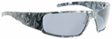 Gatorz Magnum Sunglasses with Cerakote Digi Camo Blue Frame and Grey Lens
