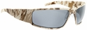 Gatorz Magnum Sunglasses with Cerakote Digi Camo Desert Frame and Grey Lens