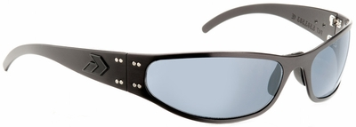 Gatorz Radiator Tactical Sunglasses with Black Frame and Grey Polarized Lens