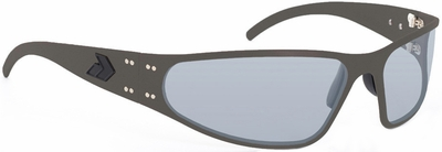 Gatorz Wraptor Sunglasses with Cerakote OD Green Frame and Grey Lens