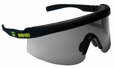 Guard Dogs Bones Safety Glasses with Smoke Lens