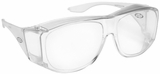 Guardian Over-The-Glass Safety Glasses with Large Clear Lens