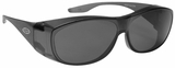 Guardian Over-The-Glass Safety Glasses with Large Gray Lens
