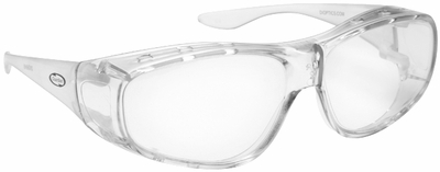 Guardian Over-The-Glass Safety Glasses with M/L Clear Lens