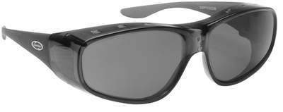 Guardian Over-The-Glass Safety Glasses with M/L Gray Lens