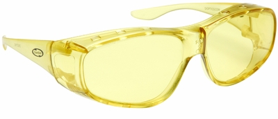 Guardian Over-The-Glass Safety Glasses with M/L Yellow Lens