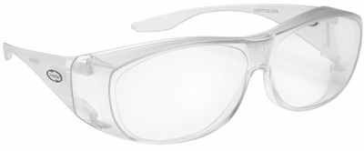 Guardian Over-The-Glass Safety Glasses with Medium Clear Lens