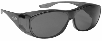 Guardian Over-The-Glass Safety Glasses with Medium Gray Lens
