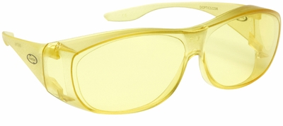 Guardian Over-The-Glass Safety Glasses with Medium Yellow Lens