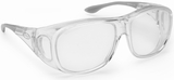 Guardian Pro Over-The-Glass Safety Glasses with Large Clear Anti-Fog Lens