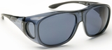 Guardian Pro Over-The-Glass Safety Glasses with Large Gray Anti-Fog Lens