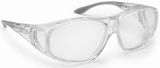 Guardian Pro Over-The-Glass Safety Glasses with M/L Clear Anti-Fog Lens