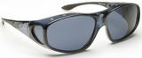 Guardian Pro Over-The-Glass Safety Glasses with M/L Gray Anti-Fog Lens
