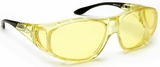 Guardian Pro Over-The-Glass Safety Glasses with M/L Yellow Anti-Fog Lens