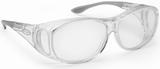 Guardian Pro Over-The-Glass Safety Glasses with Medium Clear Anti-Fog Lens