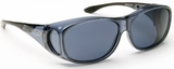 Guardian Pro Over-The-Glass Safety Glasses with Medium Gray Anti-Fog Lens