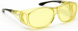 Guardian Pro Over-The-Glass Safety Glasses with Medium Yellow Anti-Fog Lens