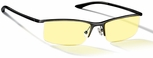 Gunnar Emissary Digital Performance Eyewear with Onyx Frame and Amber Lens