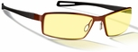 Gunnar Wi-Five Digital Performance Eyewear with Crimson Frame and Amber Lens
