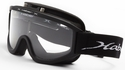 Haber Barrow Safety Goggle with Clear Single Lens and Eliminator PLUS Fan